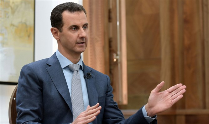 Syrian President Bashar Al-Assad speaks to Yahoo News