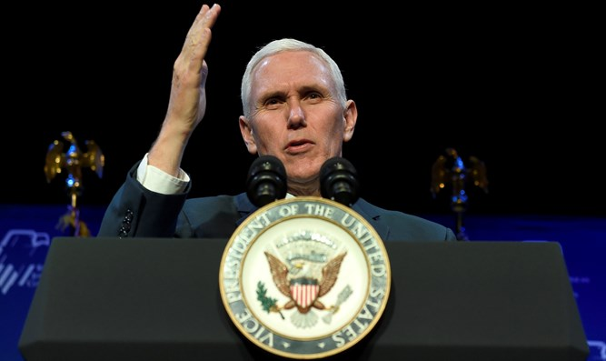 Pence Middle East trip begins in Egypt, talks terrorism