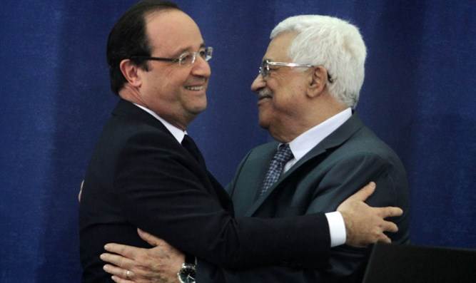 Abbas and Hollande meet in Ramallah