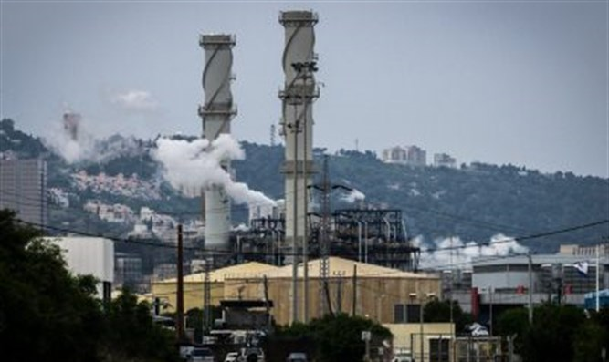 Pollution in Haifa