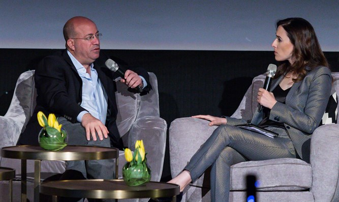 CNN Worldwide President Jeff Zucker in Israel
