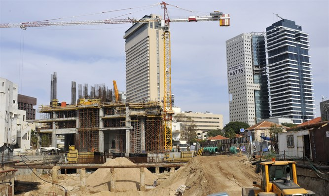 Tel Aviv construction site