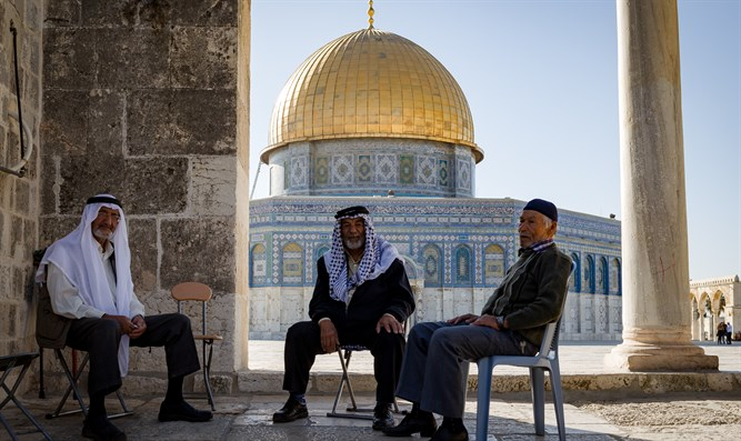 Remember the true history:  Dome of the Rock