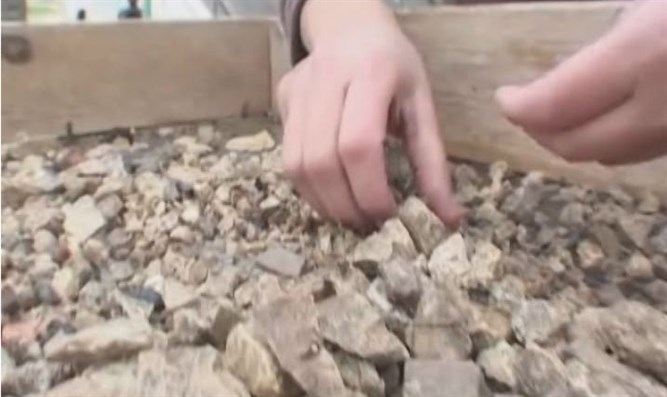 Sifting Temple Mount soil