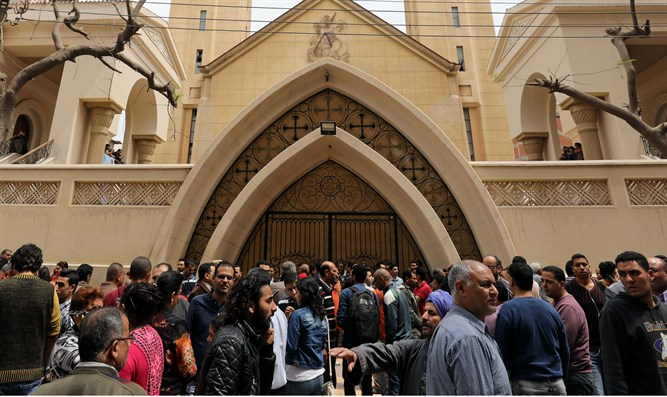 Coptic church in Tanta targeted by terrorists