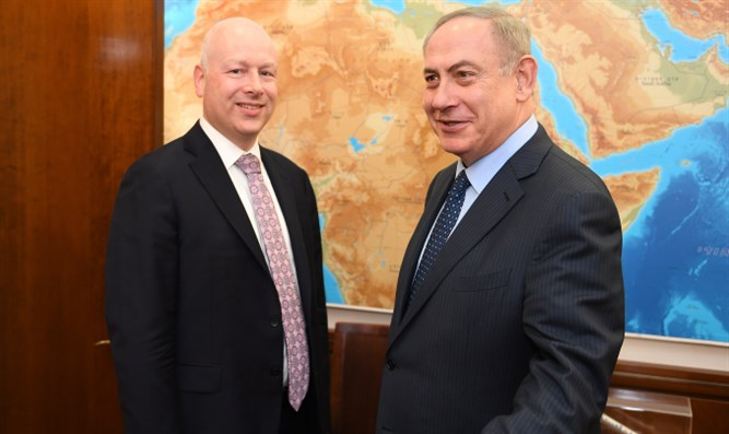 Greenblatt and Netanyahu