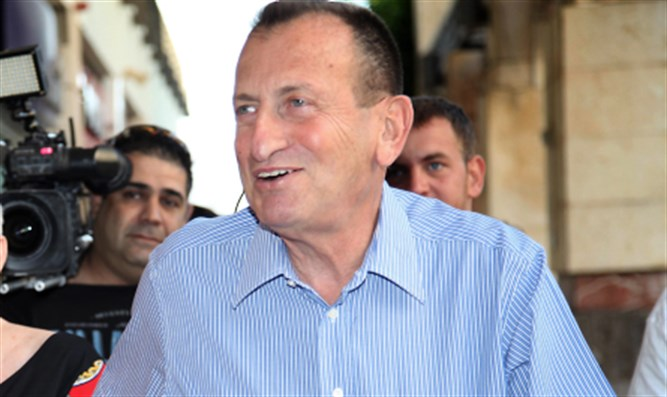 Tel Aviv mayor Ron Huldai