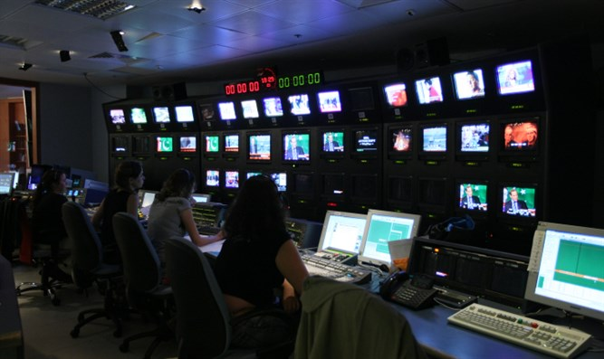Channel 10 newsroom
