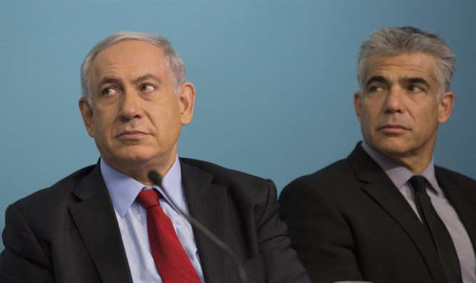 Binyamin Netanyahu and Yair Lapid