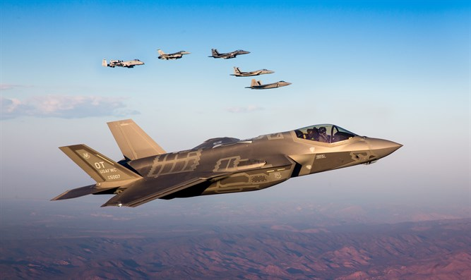 F-35A Lightning II leads other fighter jets
