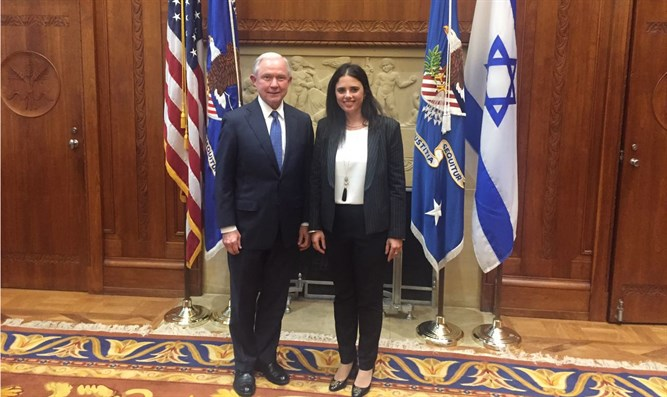 Jeff Sessions and Ayelet Shaked