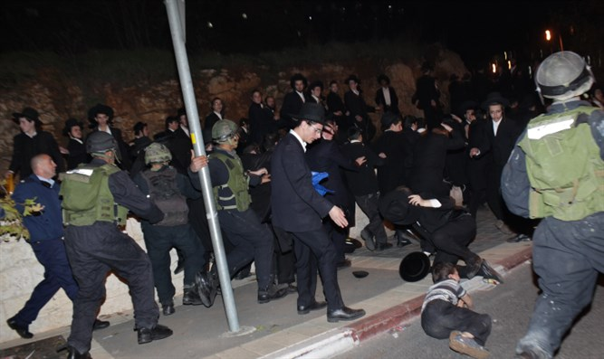 Haredi demonstration (archive)