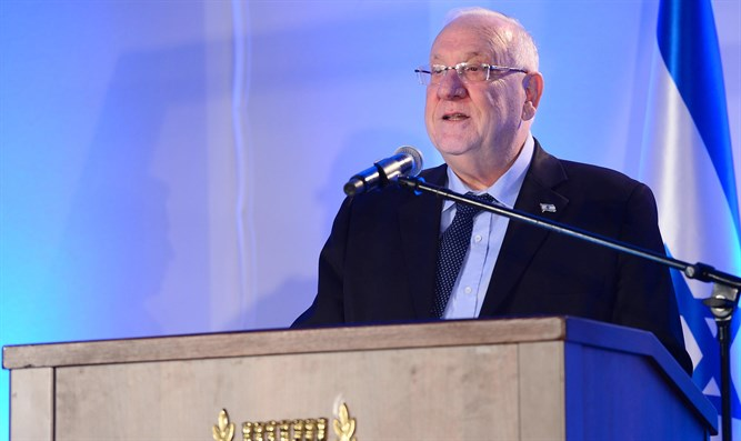 Rivlin at celebration in honor of Jerusalem's reunification