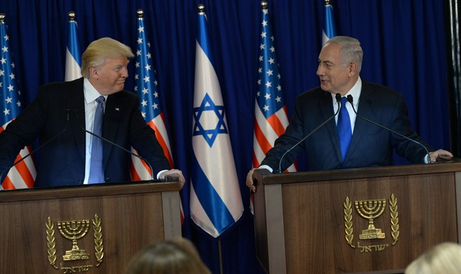 Netanyahu and Trump (archive)