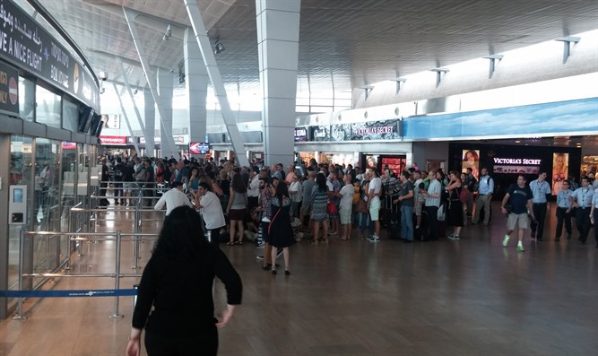 Strike at Ben Gurion Airport