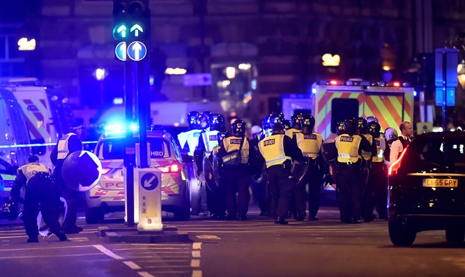 Terrorist attack in London (archive)