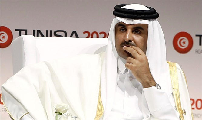 Still isolated. Leader of Qatar