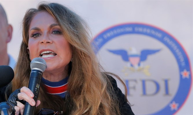 Pamela Geller speaks