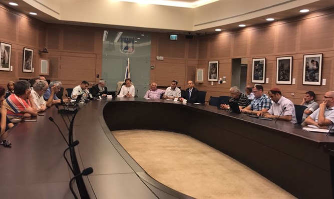 Knesset discussion