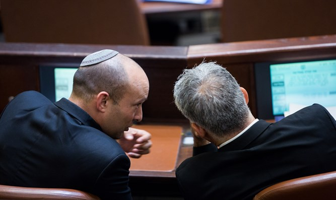 Naftali Bennett and Yair Lapid