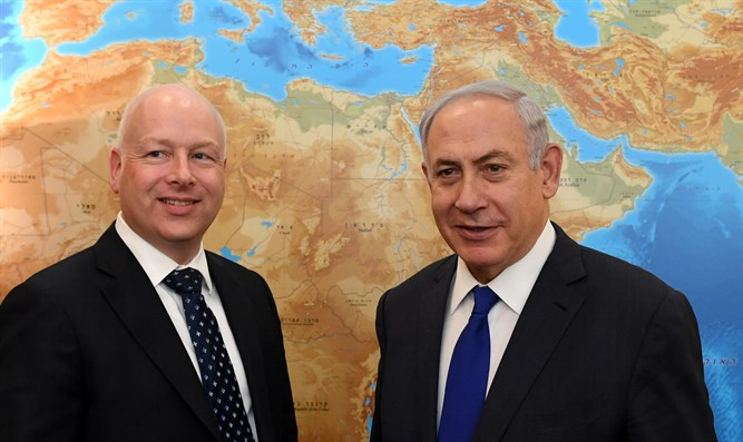 Netanyahu and Jason Greenblatt