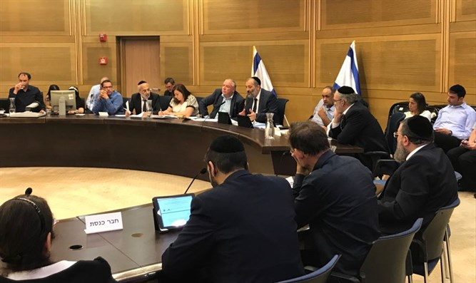 Knesset discusses infiltrators