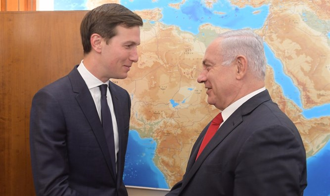 Netanyahu with Jared Kushner