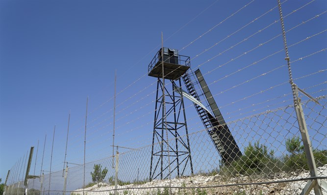 Hezbollah observation post at border