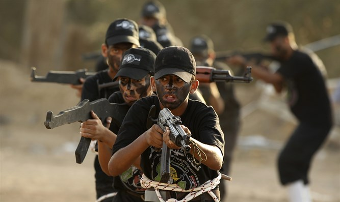 Children training in Gaza (Archive)