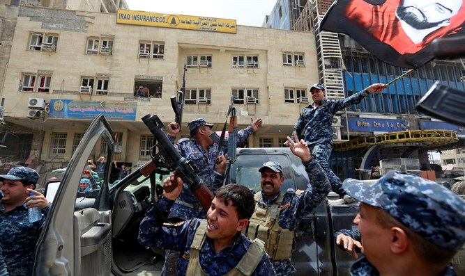 Iraqi forces celebrate recapture of Mosul from ISIS terrorists