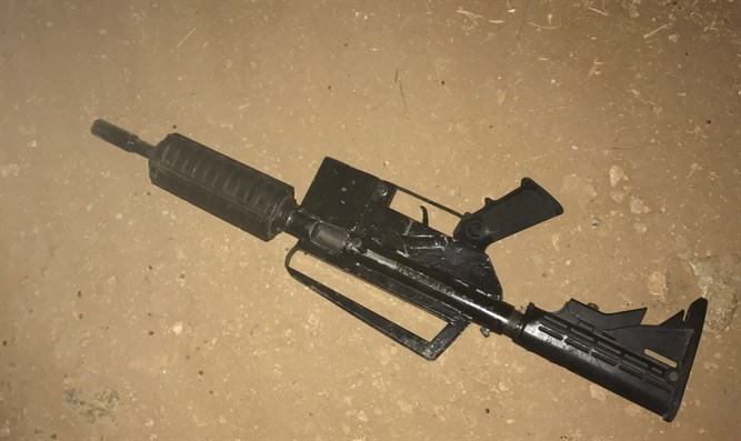 Weapon used by terrorist during arrest