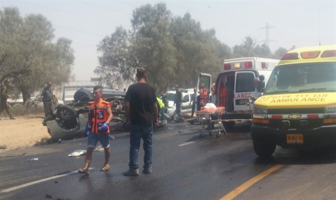Accident near Eshkol