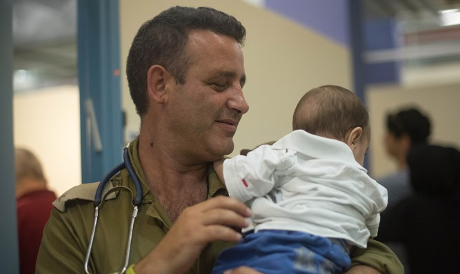 How the IDF aids thousands of wounded Syrians