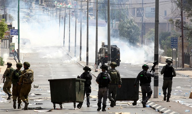Clashes in Bethlehem