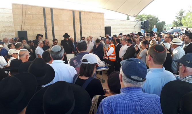Funeral service for victims of massacre