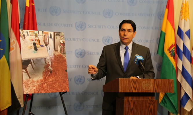 Ambassador Danon at the UN THIS MORNING