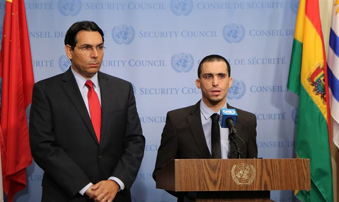 Ambassador Danon and Almog at UN Security Council