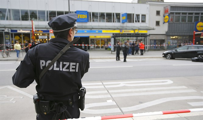 Scene of Hamburg stabbing attack