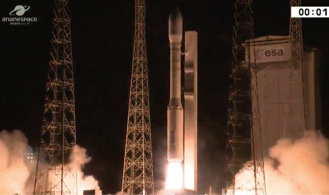 Two Israeli satellites launched into space