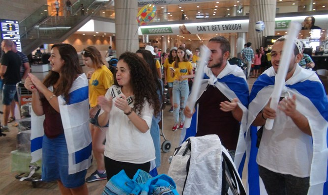 Jewish students connect to Israel