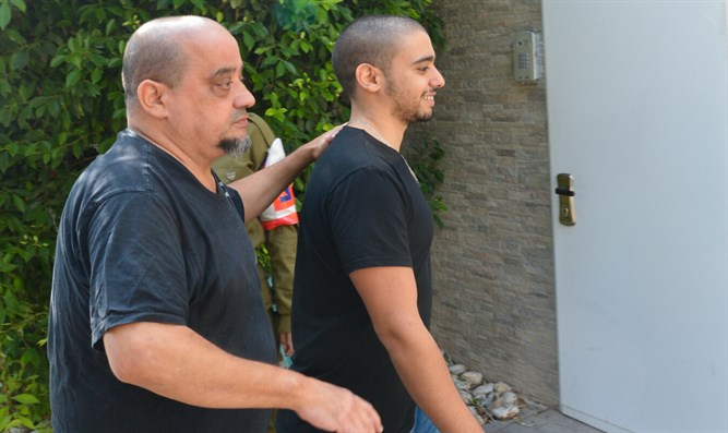 Elor Azariya and his father