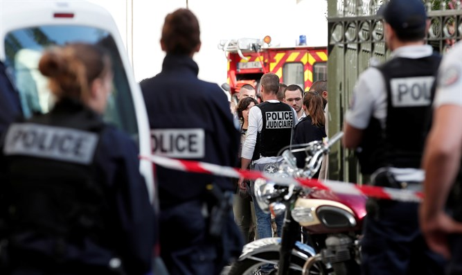 scene of Paris ramming attack
