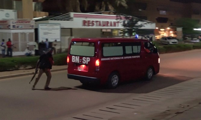 Scene of Burkina Faso attack