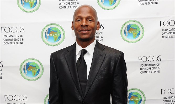 Ray Allen at the at Mandarin Oriental Hotel in New York