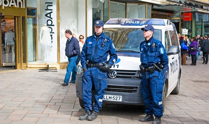 police in Finland (archive)