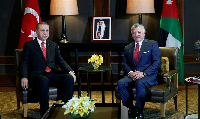 King Abdullah and Erdogan