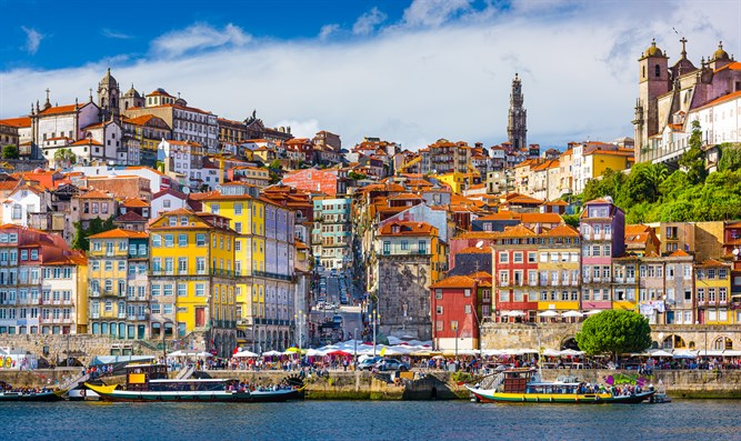 Old City of Porto, Portugal (illustrative)