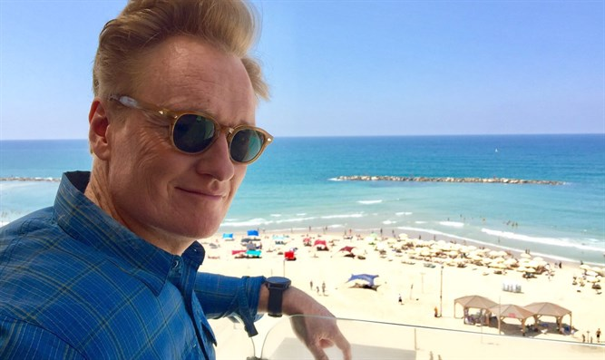 Conan O'Brien in Israel
