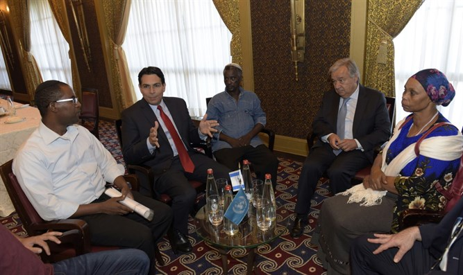 Guterres meets families of Hamas captives