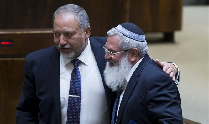 Liberman and Ben Dahan